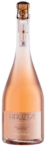 Hiruzta Basque Brut Rose